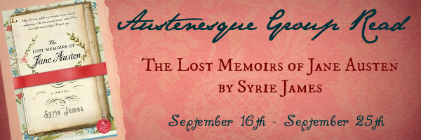 The Lost Memoirs Of Jane Austen Group Read Day Two Austenesque